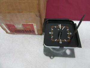 NOS 1982 1983 1984 Chevrolet Citation in-Dash Standard Quartz Clock 14039683 dp