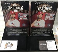 1 - 2010 Topps Triple Threads Hobby Box - possible Stanton