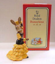 """BUNNYKINS DB256 """"FLAMENCO BUNNYKINS"""" EVENTS PIECE 2002 SIGNED EXCELLENT BOXED"""