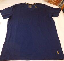 Polo Ralph Lauren underwear Mens Sleep Lounge V Neck Shirt PL84SR MBR navy L lg