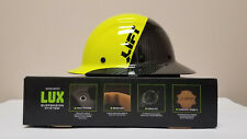 Lift Safety Dax Fifty 50 Hi-Viz Carbon Fiber Full Brim Hardhat