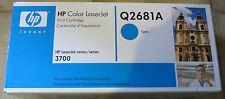 original HP Toner Q2681A  cyan LASERJET 3700 neu B
