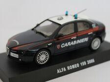 Alfa Romeo 159 2006 Carabinieri Edicola 1:43 CARAB044
