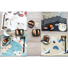Placemats Washable Heat Insulation Dining Table Place Mats Decor HD