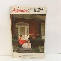 Vintage 1966 Arkansas Highway Map