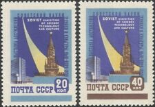 Russia 1959 Science Exhibition, New York/Buildings/Architecture 2v set (n33501)
