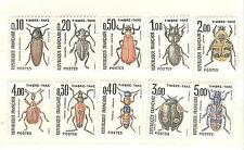 TIMBRES taxes YVERT N° 103 à 112 insectes