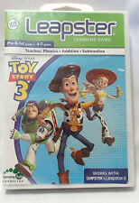 Leap Frog Leapster/ Leapster 2 Learning Game Toy Story 3 Pre-K-1st Grade 4-7 Yrs