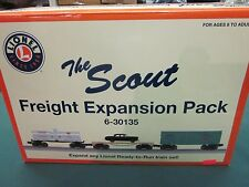 LIONEL SCOUT EXPANSION PACK( NEW ) 6- 30135