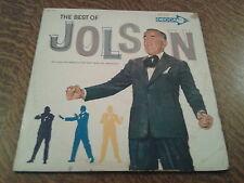 album 2 33 tours the best of al jolson swanee