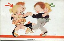MABEL LUCIE ATTWELL - SORRY - ARTIST DRAWN POSTCARD