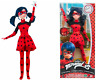 Miraculous Ladybug Fashion Doll DARING 10.5in 25cm Bandai 39754 Free Shipping