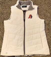 Great Lakes Loons Women's Sleeveless Vest  Medium Midwest League EUC White