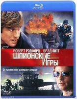 Spy Game (Blu-ray, 2013) English,Russian,French,German *NEW & SEALED*