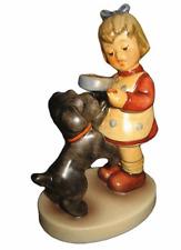 "hummel #2032  dog lovers  ""puppy pause"" tm8 4.25"" retail $215 nib!!"