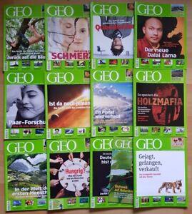 GEO Zeitschrift 2010 komplett Welt mit anderen Augen Jahrgang Magazin Sammlung