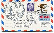 USCGC Northwind DF-77 McMurdo Station Deep Freeze Polar Antarctic Cover SIGNED
