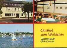 Alte Postkarte - Gasthaus zum Waldstein Weissenstadt (Fichtelgebirge)
