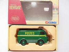 """Peugeot d3a Delivery Van Delivery Van """"Postes"""" Post, Corgi ex70610 in 1:43 Boxed!"""