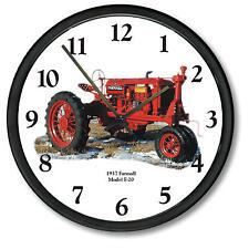 """New McCormick Farmall Wall Clock 10"""" Round Vintage 1937 Model F-20 Wall Clock"""