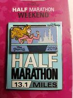 Run Disney Pin Princess Half Marathon Weekend 2019 Logo Aurora Sleeping Beauty