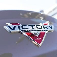 VICTORY CROSS COUNTRY TOUR CROSS ROADS HARD BALL  MOTORCYCLE BADGE DECAL KIT