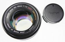 Canon FD 55mm f1.2 S.S.C. ASPHERICAL  #124849