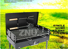 Portable Camping Picnic Charcoal Barbecue BBQ Grill Hibachi&carry Case