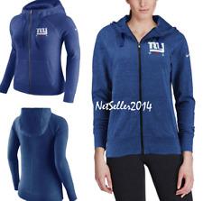 eba4c64e2a82 SZ XL 🆕🔥Nike Women s Vintage Gym Full Zip Hoodie NFL Team New York Giants