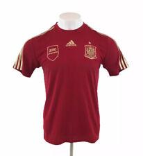 España 2013/2015 Camiseta De Fútbol Adidas Casa Rojo 2010 campeones para Hombre Medio