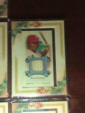 2006 Topps Allen & Ginter Ryan Howard Framed Relic Bat Phillies