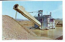 Gold Dredge near Helena Montana Postcard 1950s