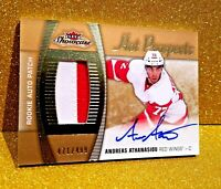 2015-16 Hot Prospects Rookie Patch Autograph Andreas Athanasiou Auto Gem Mint