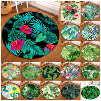 Tropical Palm Leaf Flamingo Rug Area Rugs Kitchen Floor Door Mat Bedroom Carpet
