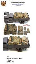 WWII CARGO TRUCK OPEL BLITZ GERMAN diorama resina value 1/35 ESTIBA camion