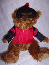 "Liz Claiborne Snowboard Bear Teddy Bear 13"" Plush Soft Toy Stuffed Animal"