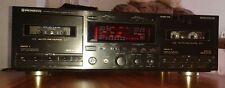 Pioneer CT-W850R Doppel-Cassetten Deck Teildefekt