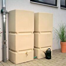 Regenwassertank oberirdisch Jumbo 800 L sandstein