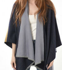 3 Tone Cape - One Size - NEW - Blue and Mustard