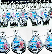 12 BABY SHOWER ITS A BOY NAIL CLIPPER KEY CHAINS FAVORS RECUERDOS BABY SHOWER
