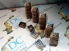 MATSUSHITA POTTER BRUMFIELD MISC. ELECTRIC RELAYS LOT OF 27