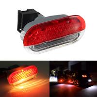 LED Rouge Projecteur éclairage Courtoisie Porte pour VW Sharan Golf Mk4 GTI Bora