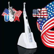 US! Dental 16:1 Endo Motor Root Canal Treatment Wireless Reduction Contra Angle