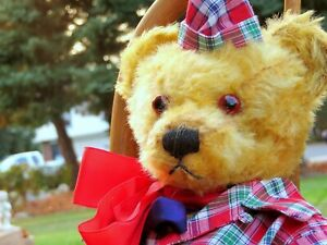Mr. Andy…40/50 CLASSIC Mohair, …  old, English teddy bear, …a found