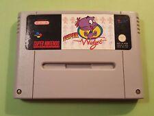 Super Widget - Super Nintendo SNES PAL FAH  - ORIGINAL - RARE