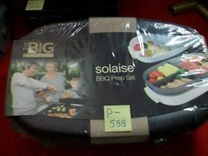 """NEXT PRODUCTS BRAND NEW SEALED """"THE BIG BACKYARD"""" SOLAISE BBQ PREP SET #BY-494"""