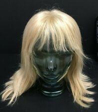Ellen Wille Ladies human hair wig. Light blonde, mid length. (KC137Z)