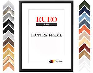EUROLINE35 Bilderrahmen 50x65 oder 65x50 cm mit entspiegeltem Acrylglas