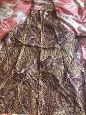 Williams Sonoma Paisley Floral Apron NEW