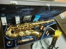 Tenor Saxophon, Yamaha YTS 62 purple logo in Bestzustand